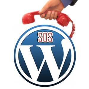 Un pb WordPress appeler nous !